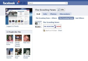 Facebook Scouting News